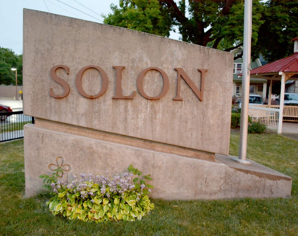 Solon City Marker