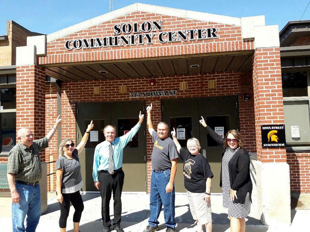 Solon Community Center Sign